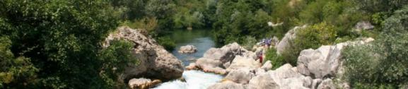 Rafting on the river Cetina – Omiš